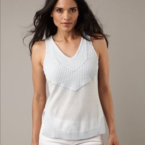 Tops - Cute Linen/Cotton Knit Tank